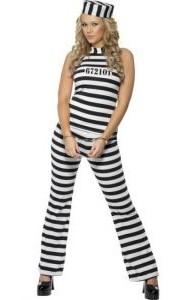 Déguisement de prisonnière femme