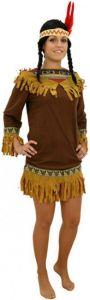 d guisement d 39 indienne adulte costume indienne pas cher d guisement carnaval. Black Bedroom Furniture Sets. Home Design Ideas