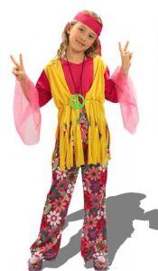 déguisement de Hippie Fille