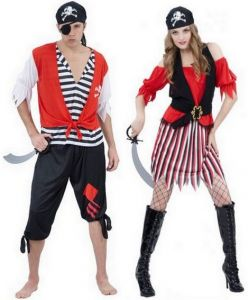 deguisement pirate couple