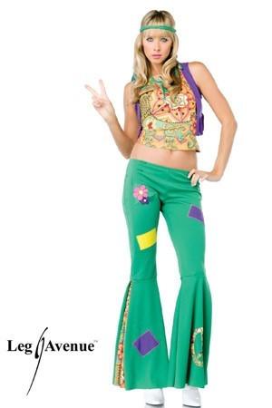 d guisement hippie femme costume baba cool pas cher d guisement carnaval. Black Bedroom Furniture Sets. Home Design Ideas