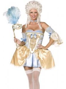 déguisement baroque femme
