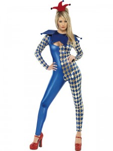 déguisement arlequin femme