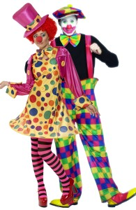 déguisement couple clown