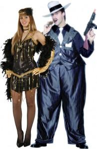 déguisement couple gangster et charleston