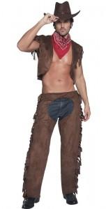 déguisement cowboy sexy homme