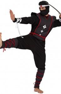 déguisement ninja homme