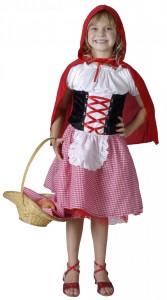 déguisement petit chaperon rouge fille