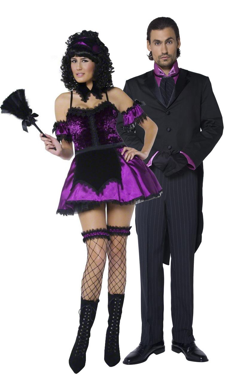 d guisement couple femme de chambre et maitre d 39 h tel costume couple sexy d guisement halloween. Black Bedroom Furniture Sets. Home Design Ideas