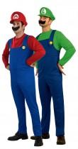 Déguisement couple Mario Bross™ et Luigi™