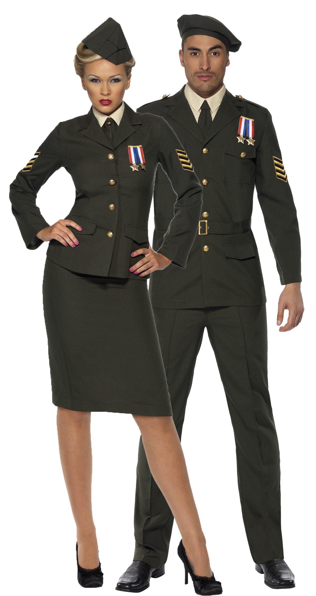 D guisement couples d 39 officiers militaires d guisement couple pas cher soir e costum e th me - Deguisement couple halloween ...