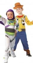 Déguisement couple enfant Woody et Buzz l'éclair de Toy Story™
