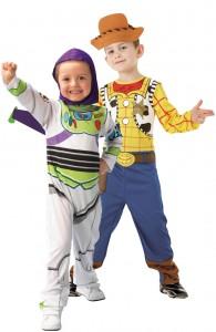 deguisement couple woody et buzz l'éclair-toy story