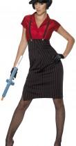 Déguisement gangster femme