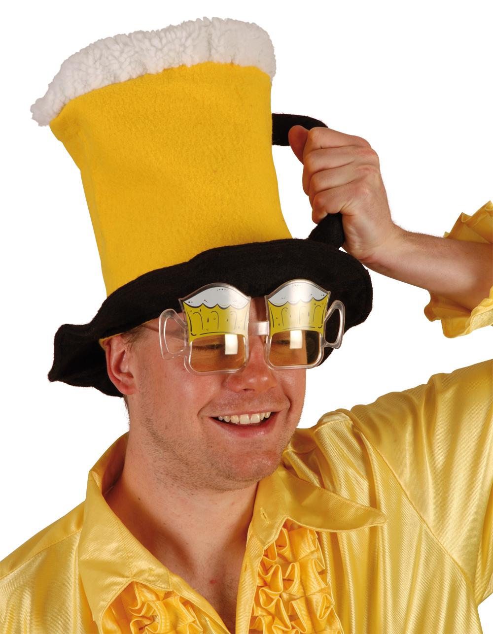 chaussures élégantes mode diversifié dans l'emballage Chapeau chope de bière : Accessoire déguisement pas cher ...