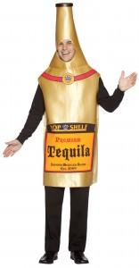 déguisement bouteille de tequila homme