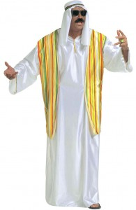 déguisement cheikh arabe