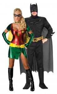 déguisement couple batman et robin