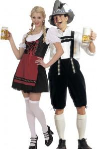 déguisement couple bavarois