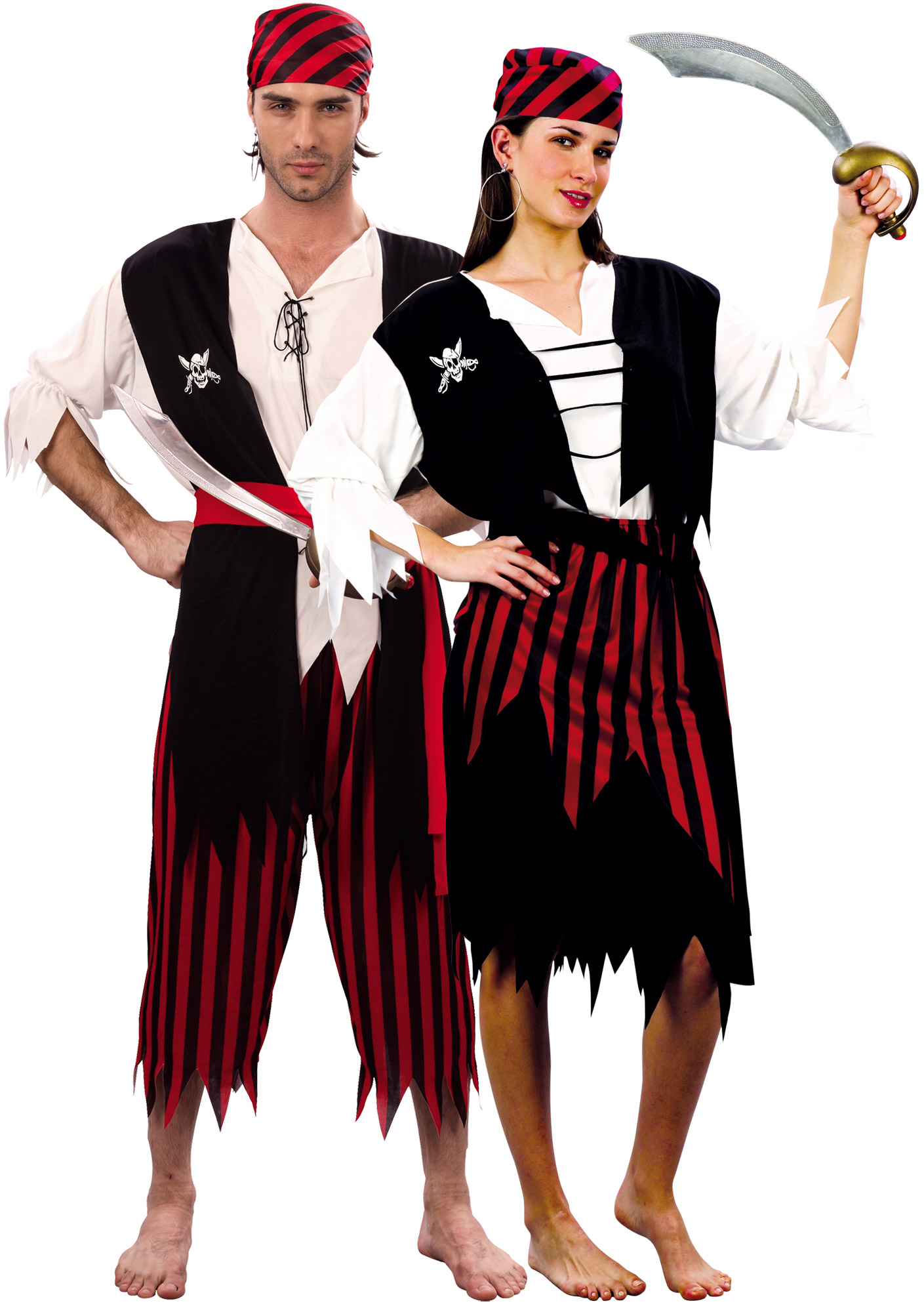 D guisement couple de pirates d guisement couple pas cher costume carnaval - Deguisement couple halloween ...