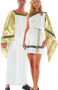 déguisement couple de romains