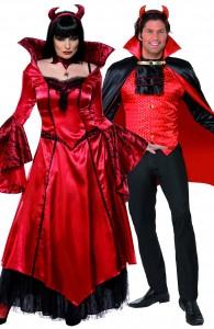 déguisement couple diable