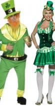 Déguisement couple d'irlandais