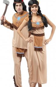 déguisement couple indien