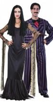 Déguisement couple Morticia et Gomez – Famille Addams™