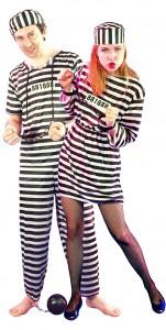 déguisement couple prisonniers