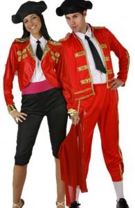 déguisement couple torero