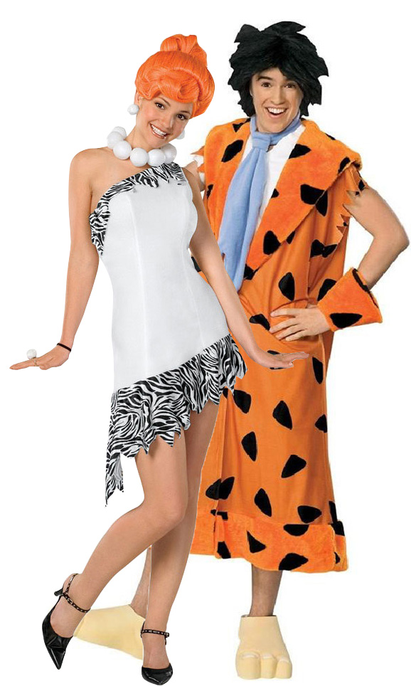 D guisement couple wilma et fred pierrafeu d guisement couple pas cher costume carnaval - Deguisement halloween couple ...