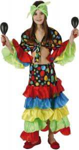 déguisement danseuse de rumba