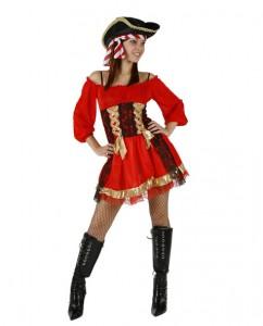 déguisement de pirate femme