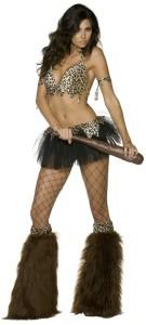 déguisement femme des cavernes sexy