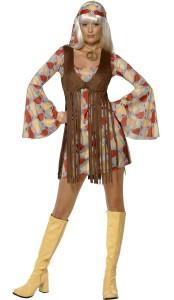 déguisement hippie chic femme
