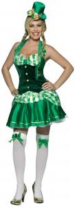 déguisement irlandaise femme