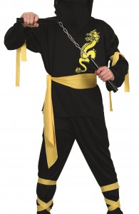 déguisement ninja garcon