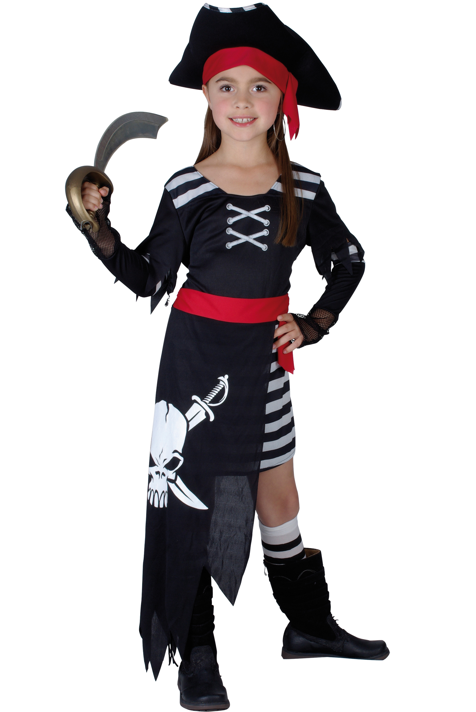 d guisement pirate fille d guisement pirate enfant pas cher costume carnaval. Black Bedroom Furniture Sets. Home Design Ideas