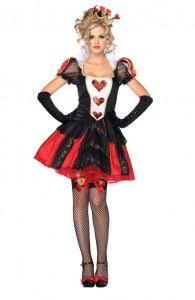 déguisement reine de coeur sexy femme