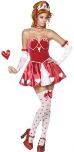 déguisement reine de coeur sexy