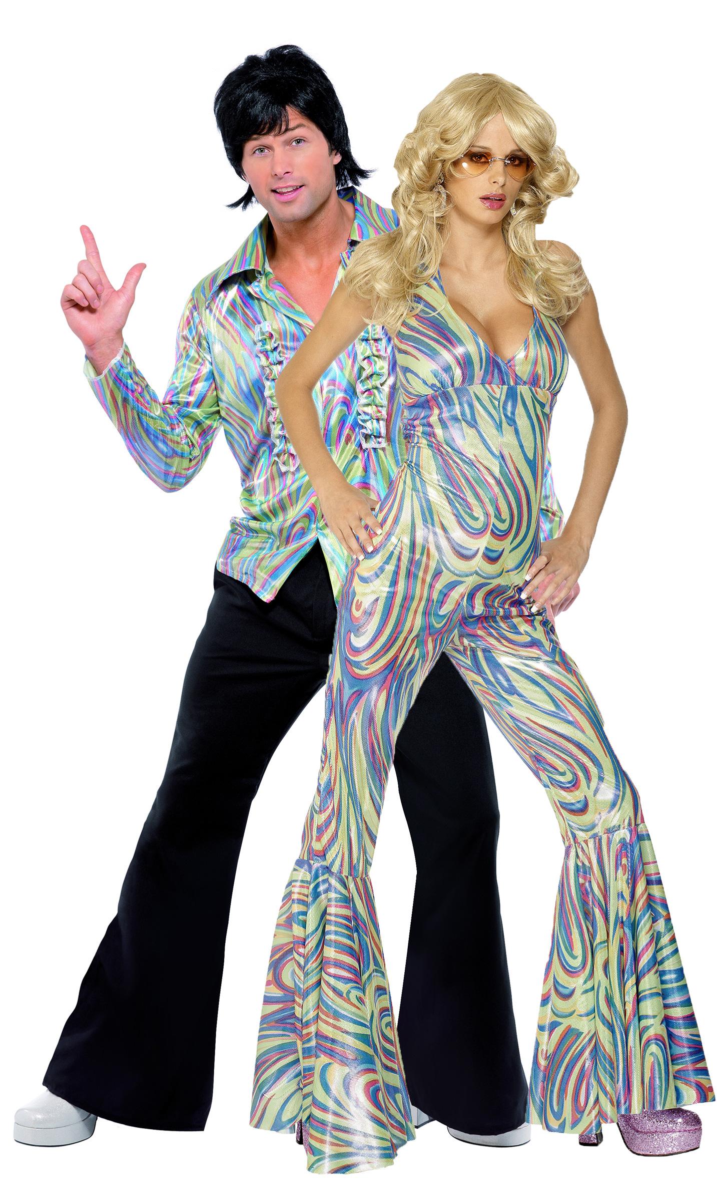 d guisement couple disco costume couple pas cher d guisement carnaval. Black Bedroom Furniture Sets. Home Design Ideas
