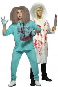 déguisement couple de docteurs fous