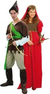 déguisement couple médiéval