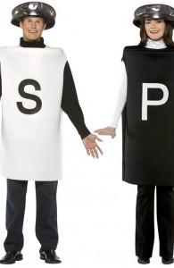 déguisement couple poivre et sel