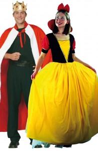 déguisement couple prince et princesse