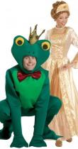 Déguisement couple princesse et grenouille