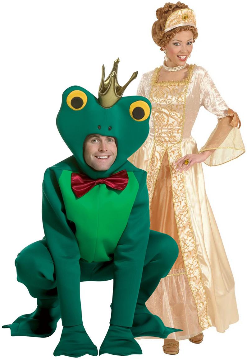 d guisement couple princesse et grenouille d guisement couple prince et princesse costume. Black Bedroom Furniture Sets. Home Design Ideas