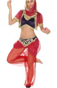 déguisement de danseuse orientale femme