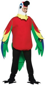 déguisement perroquet